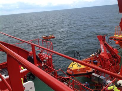 Three offshore access vessels: an 8-person transfer boat, a 7-person transfer boat, and a fast rescue boat