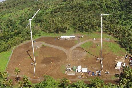Vergnet turbines have been installed in Peru, Samoa, Vanuatu, Lithuania and Japan