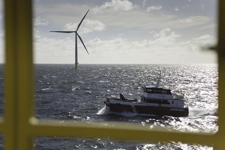EnBW's crew transfer vessel