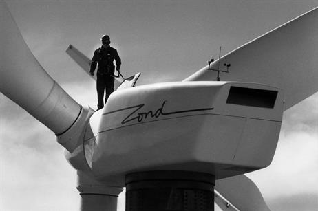 Zond was set up in 1980 and developed turbines with a capacity of 550kW and 750 kW.