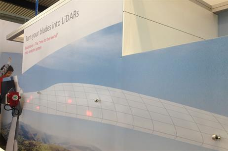 BladeVision: SSB Wind Systems showing its blade lidar sensors