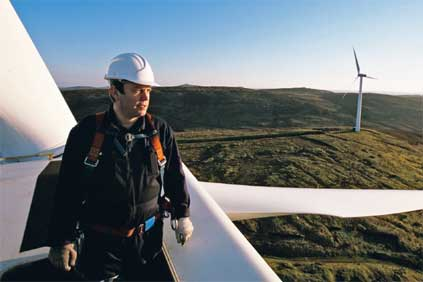 The Burradale wind project in Shetlands has been operating since 2000