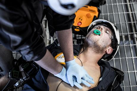 Maersk Training and MHI-Vestas have developed a first aid training programme for the offshore wind sector