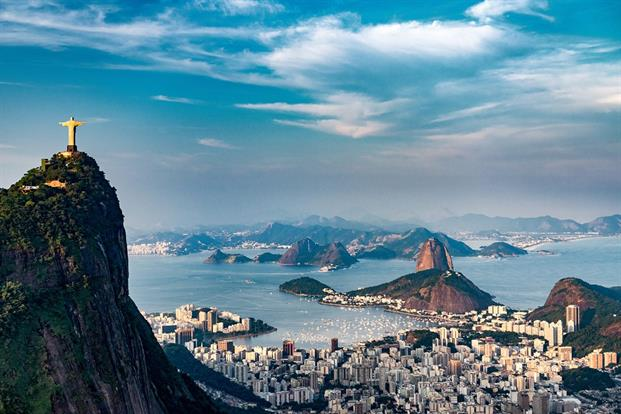 And finally, Rio's breathtaking Christ the Redeemer statue overlooking the city. [Image via Discovery Channel's Facebook page].