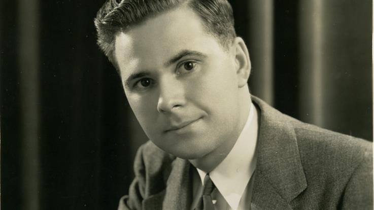Harold Burson in 1947, age 21.