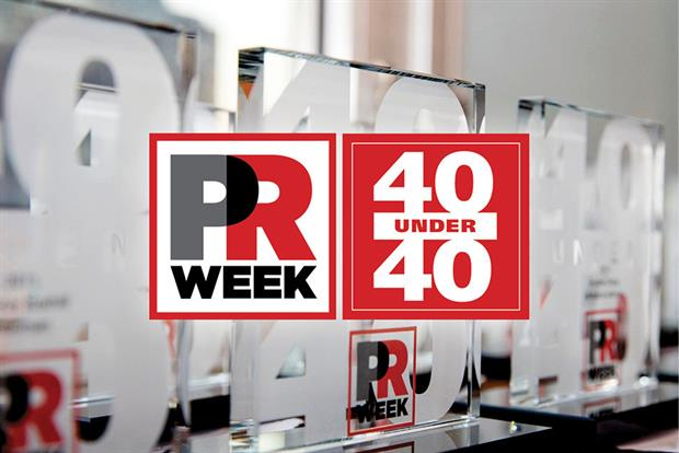 The PRWeek Conference capped off an extraordinary day of  speakers, panels, and workshops with the 40 Under 40 dinner, where honorees of PRWeek's annual recognition of 40 influential and important under-40s officially received their trophies.