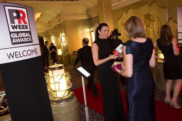 The PRWeek Global Awards 2015 was hosted at the Park Lane Hotel.