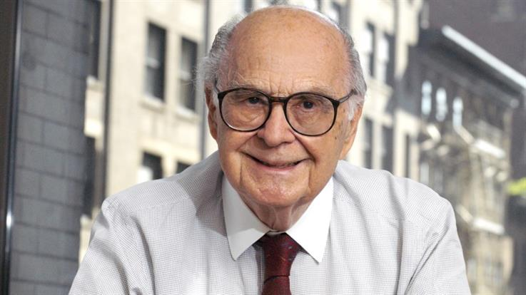 Harold Burson in the early 2000s. Photos courtesy of Burson-Marsteller