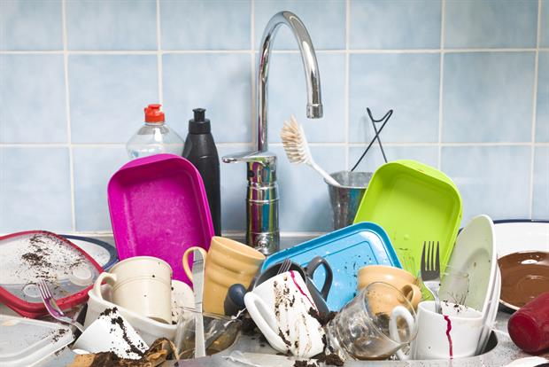 CLEAN AS YOU GO:  Tidy and wash dishes as you go. Otherwise mess can hit soul-destroying proportions. If you tackle small chores as you go, little by little, you won't have to take an entire day for a big clean-up.