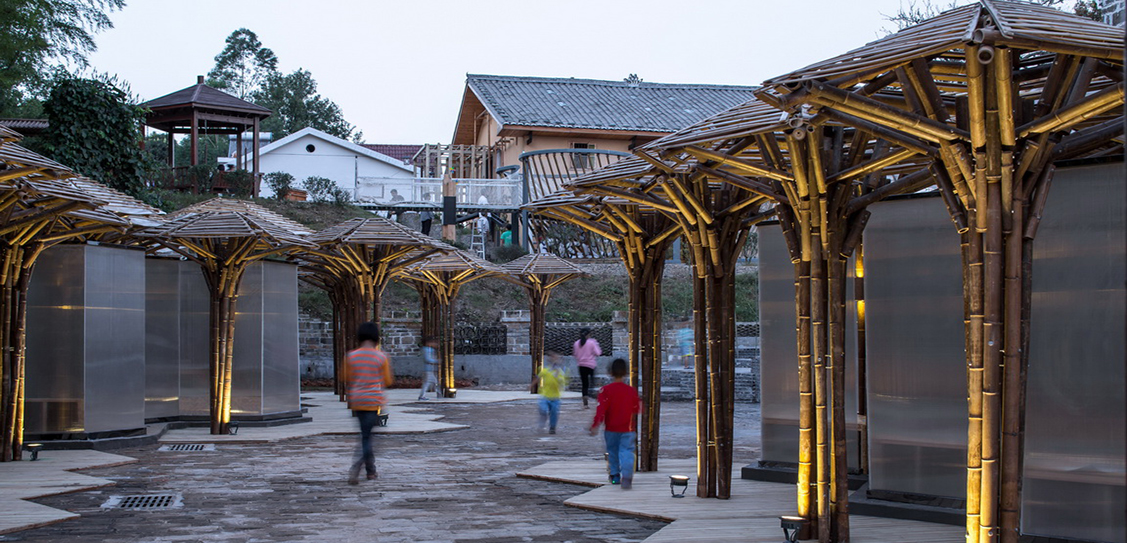Bamboo children activity centre -Zhanghaiao