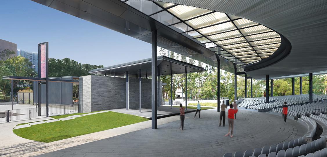 Morse Park Amphitheatre - Architectural Services Department, HKSAR Government