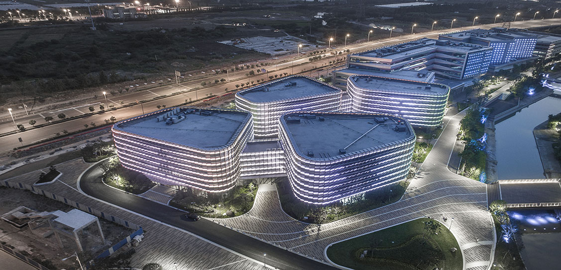Qianyang E-business Park of Ningbo City - China United Engineering Corporation Limited · ZOYO Architects