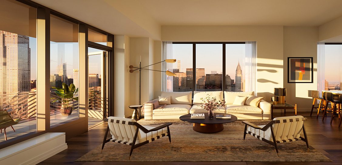 Rose Hill, Manhattan - Rockefeller Group, CetraRuddy. Photo credit: Pandiscio Green & Recent Spaces.