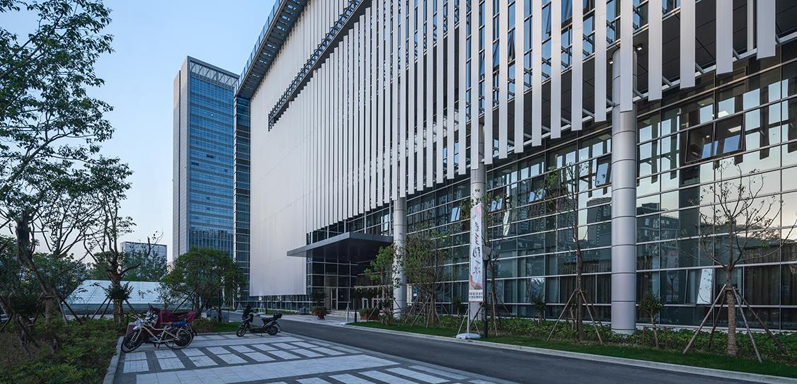 Ningbo Yinzhou Civic Center - ARCHIMORPHIC Inc