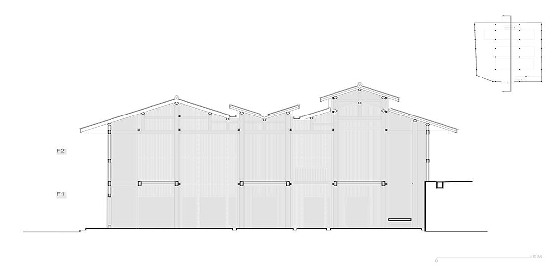 Warf Memory: Exhibition Hall - West-line Studio