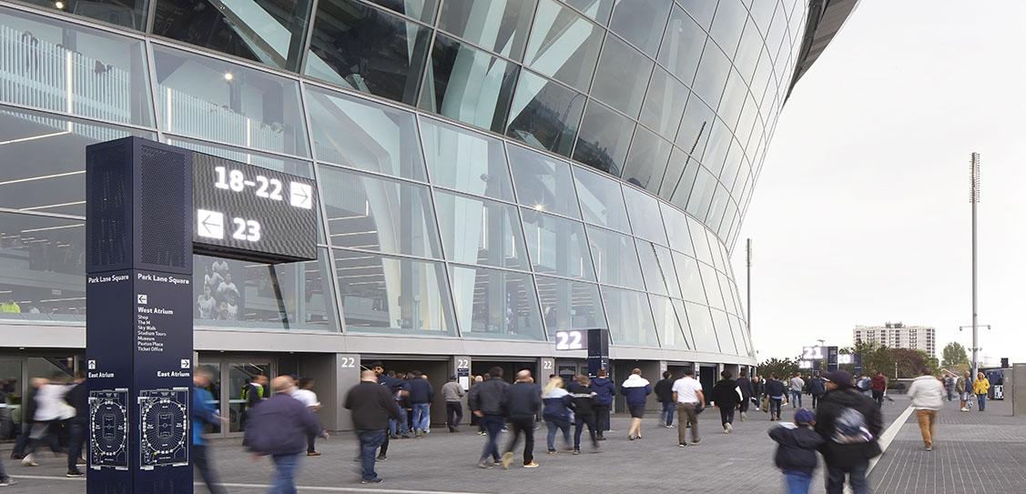Tottenham Hotspur Stadium Wayfinding and Branding - Populous