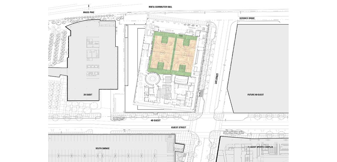 Auerbach Center at Boston Landing - Elkus Manfredi Architects