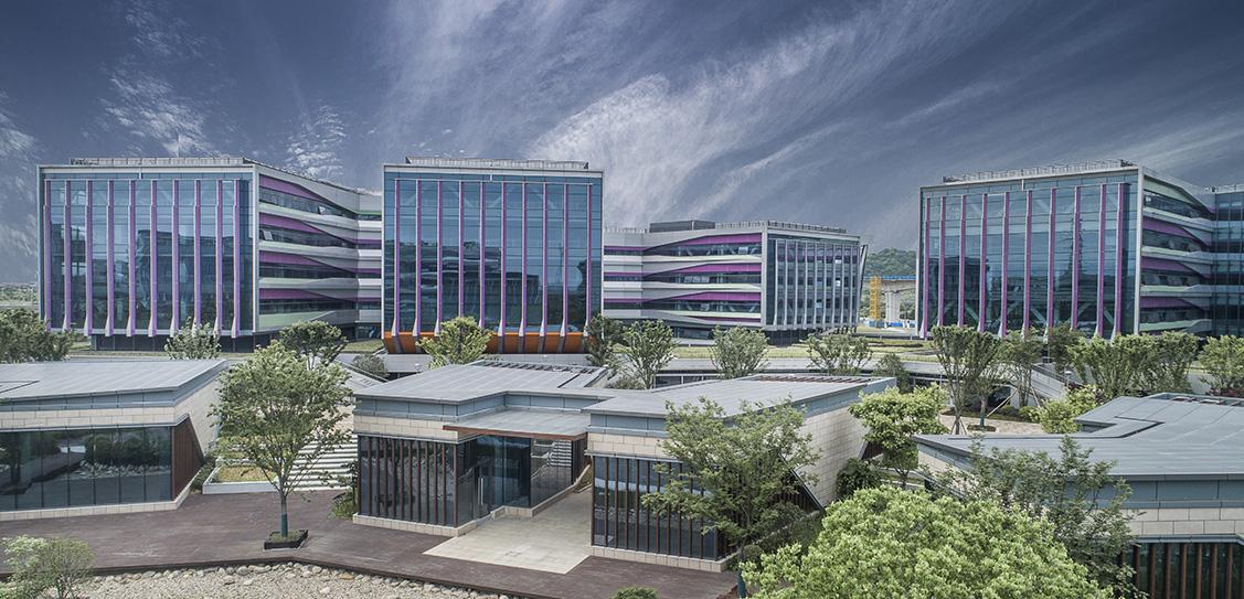 Qianyang E-business Park of Ningbo City - China United Engineering Corporation Limited · ZOYO Architects