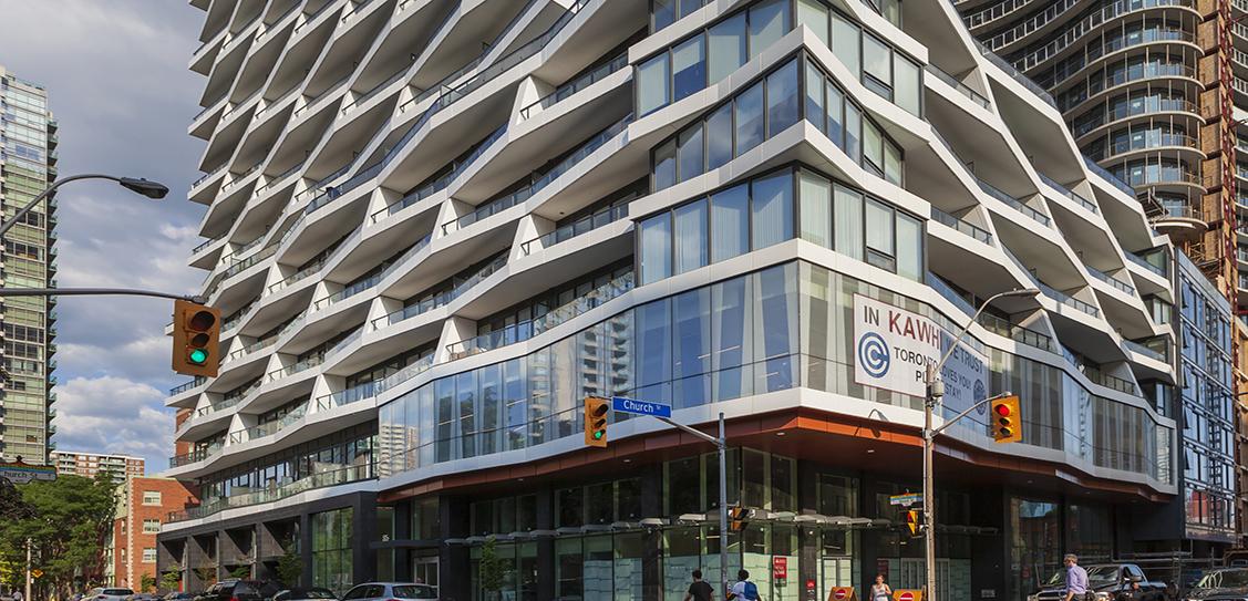 Axis Condos at 411 Church Street - IBI Group