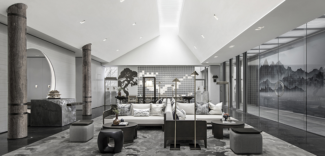 Chengdu Green Town Feng Qi Chao Ming Sales Center - Matrix Design