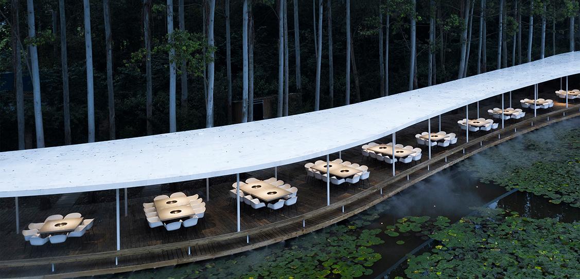 Garden Hotpot Restaurant - MUDA-Architects, Images: Arch- Exist