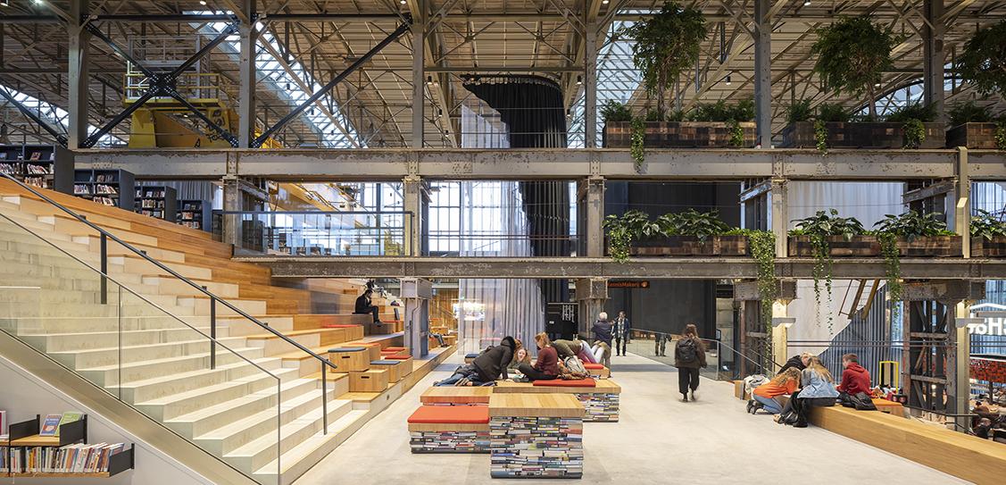 LocHal Library - Mecanoo Architecten