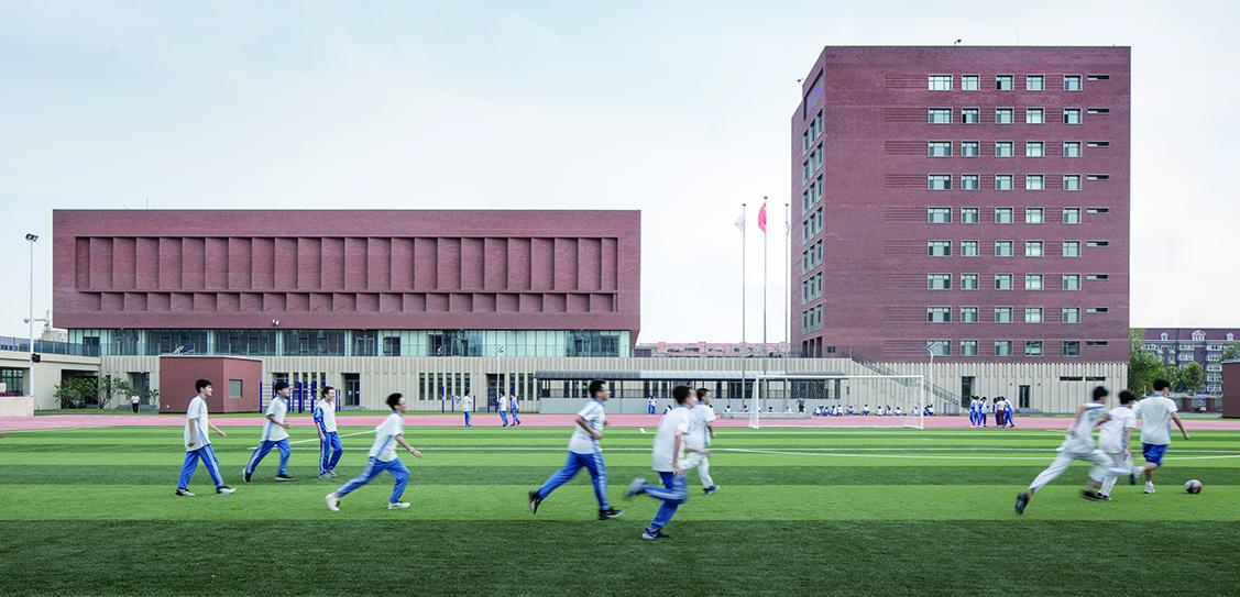 The New Campus of Tianjin No.4 Middle School - RSAA/ Büro Ziyu Zhuang