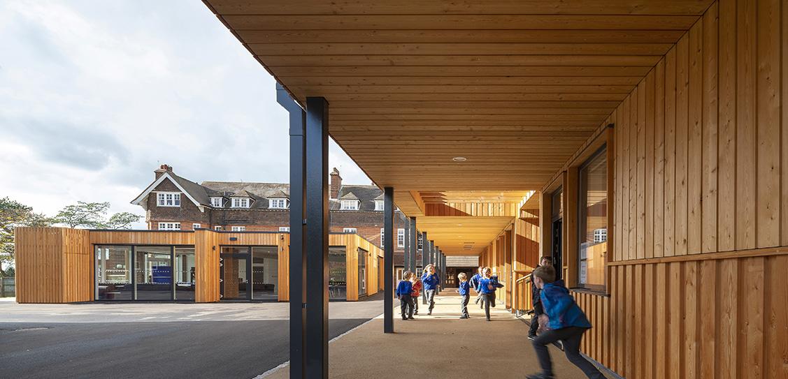 Cranleigh Prep School - Townsend Building - Blue Forest Ltd
