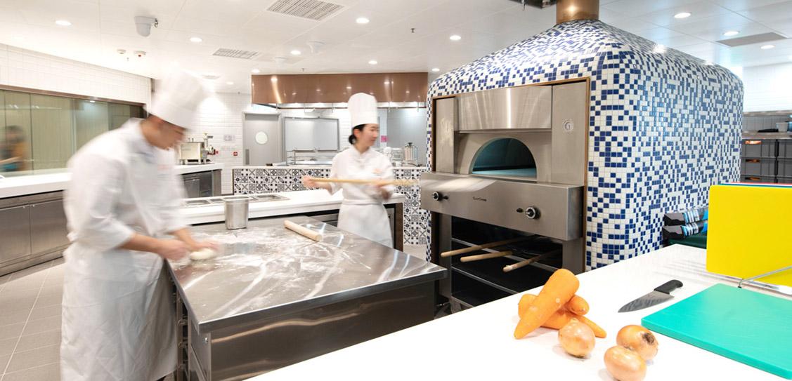 International Culinary Institute - Leigh & Orange