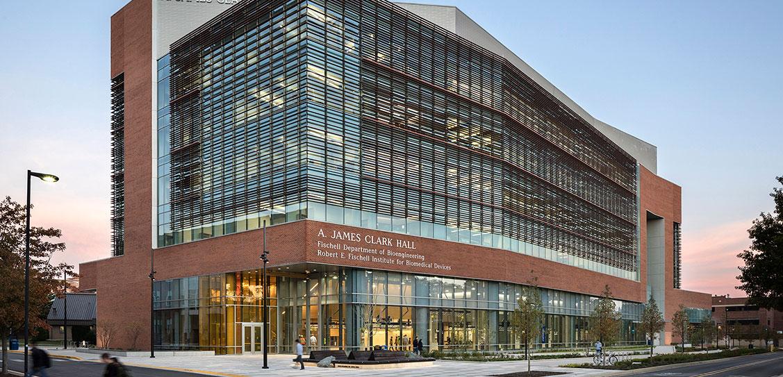 University of Maryland, A. James Clark Hall - Ballinger