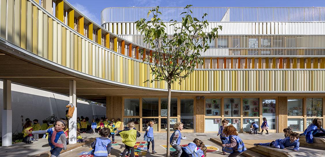 Lycée Français Maternelle - b720 Fermín Vázquez Architects