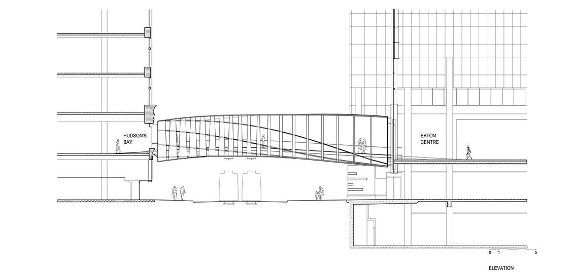 CF Eaton Centre Bridge - WilkinsonEyre with Zeidler