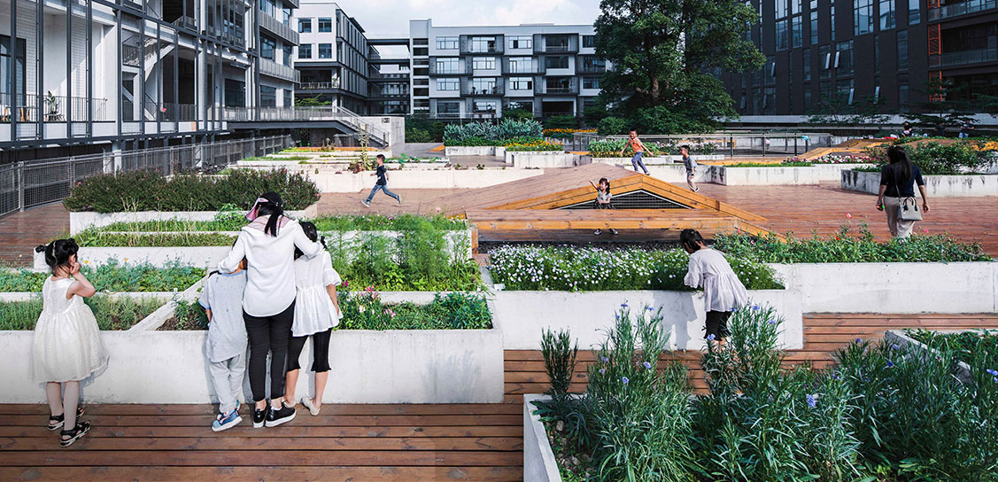 The Planting Terrace and The Experience Pavilion - Mozhao Architects