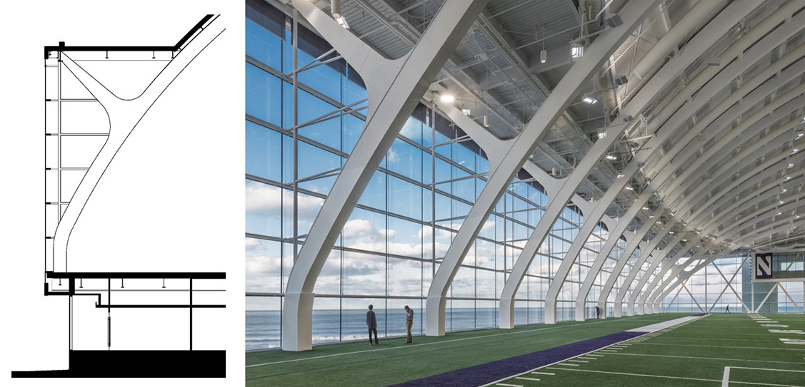 Northwestern University Ryan/Walter Athletics Center - Perkins + Will