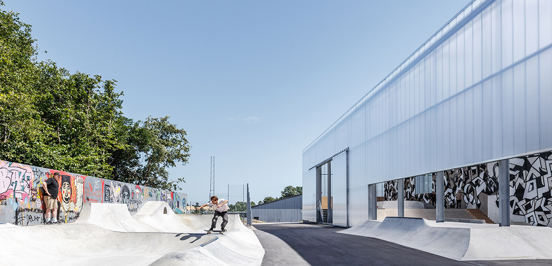GAME Streetmekka Viborg - EFFEKT Architects