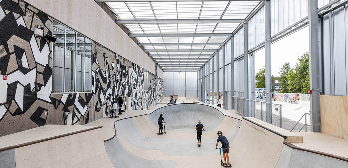 GAME Streetmekka Viborg - EFFEKT Architects
