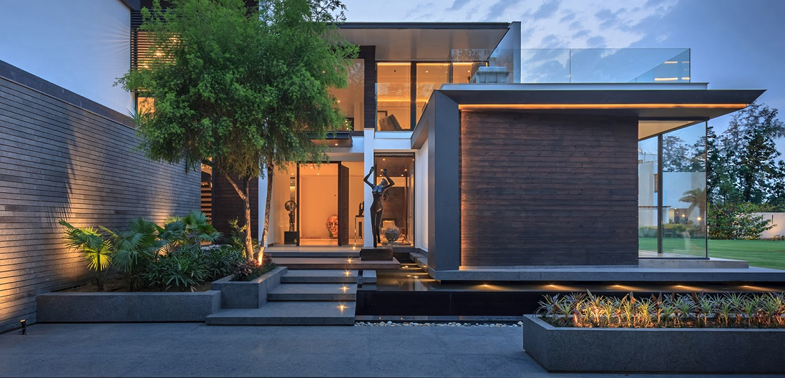 Caryota House in New Delhi is designed by Dada & Partners. Picture: Ranjan Sharma