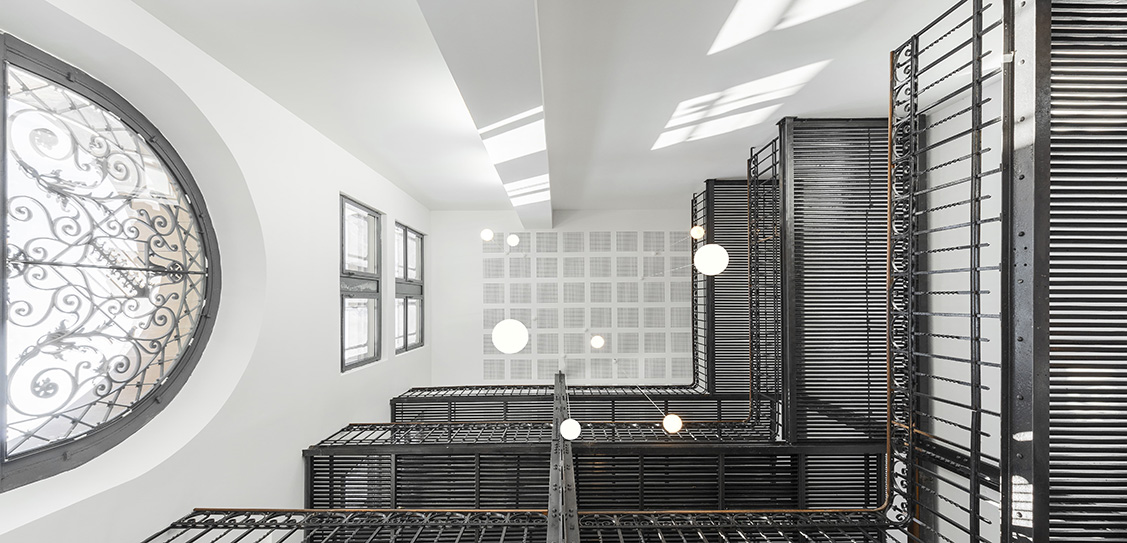 Réhabilitation des anciennes archives départementales de Strasbourg en 58 logements - S&AA Schweitzer et Associes Architectes