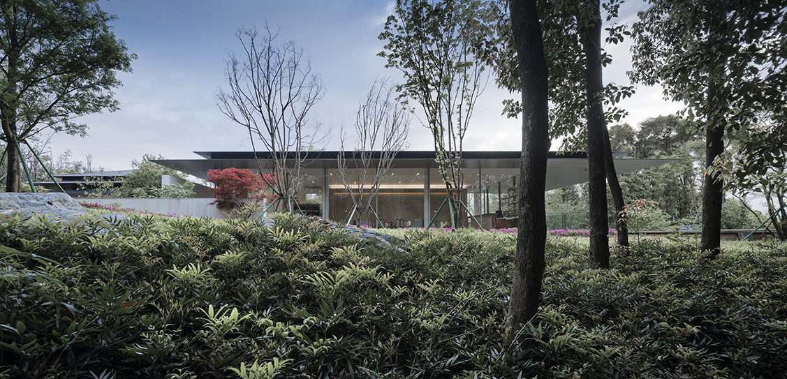 Greentown Yiwu Peach Blossom Land Living Experience Centre - Hangzhou 9M Architectural Design Co. Ltd