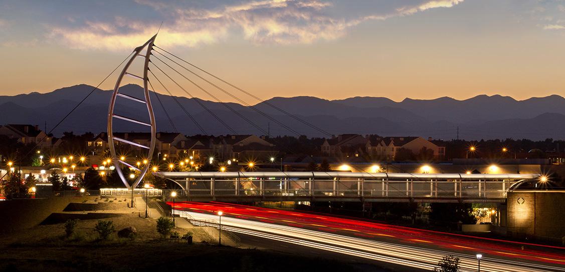 Lone Tree Pedestrian Bridge - Fentress Architects