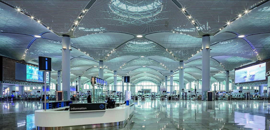 Istanbul Airport - Grimshaw, Nordic-Office of Architecture, Haptic Architects, Scott Brownrigg, Fonksiyon / TAM / Kiklop, Images: Murat  Germen, IGA, Gurken Akay