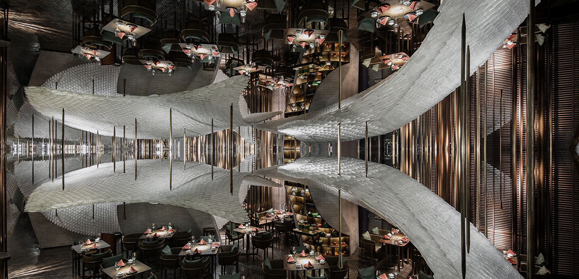 Song Chinese Cuisine - Republican Metropolis Architecture. Photographer: Jack Qin