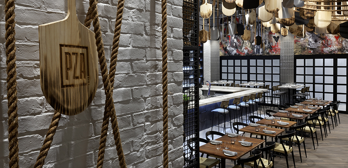 PZA Restaurant - II BY IV DESIGN