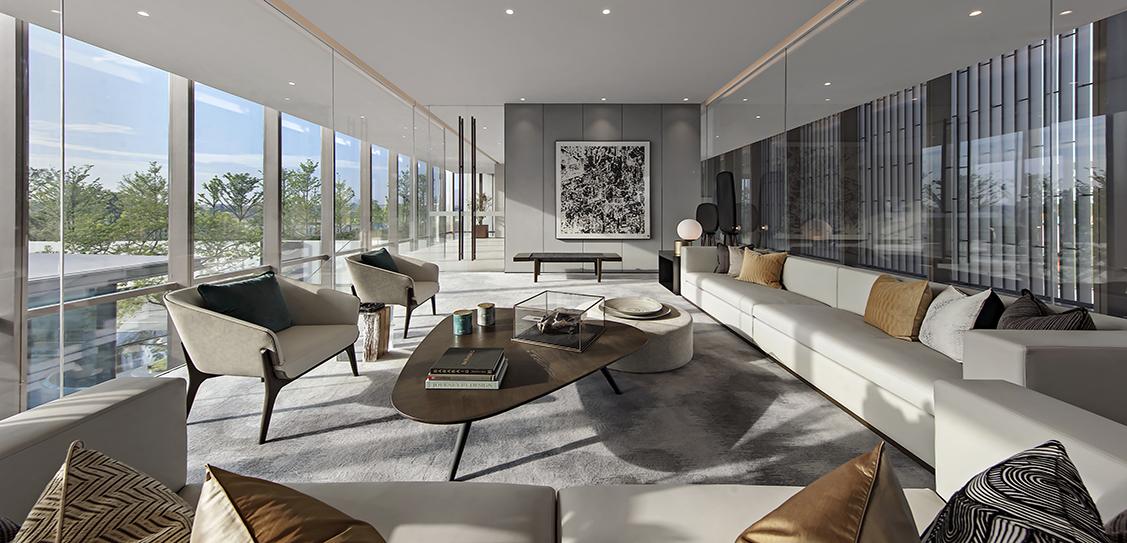 CR Land Foshan Yueli Mansion Sales Center - Matrix Design