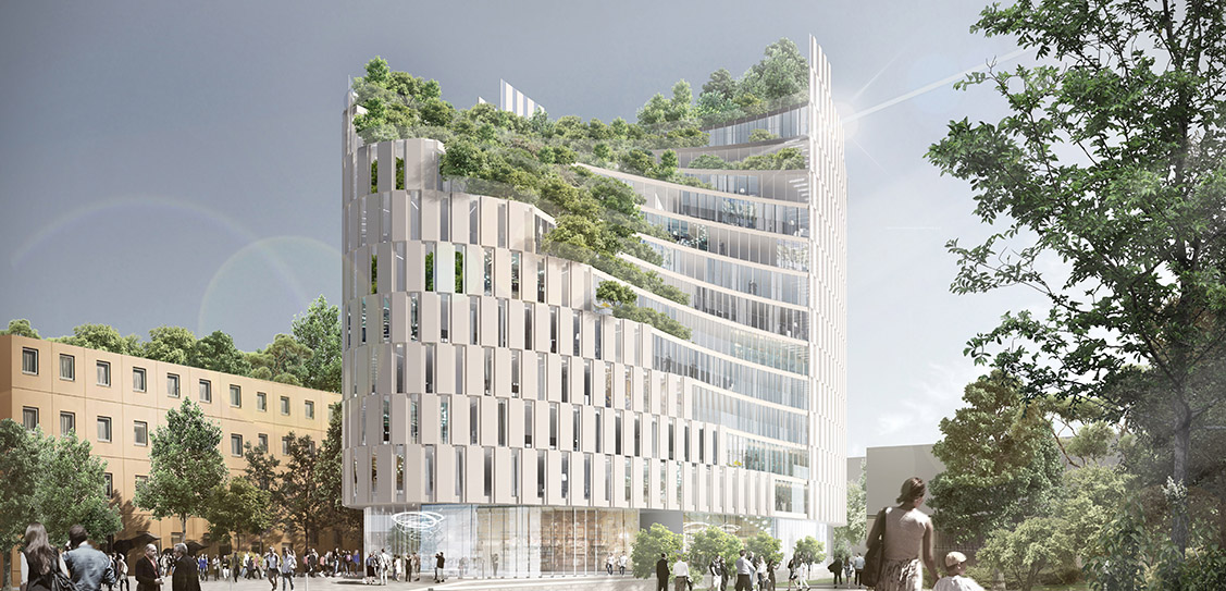 Tirana Mixed Use Building - Mario Cucinella Architects