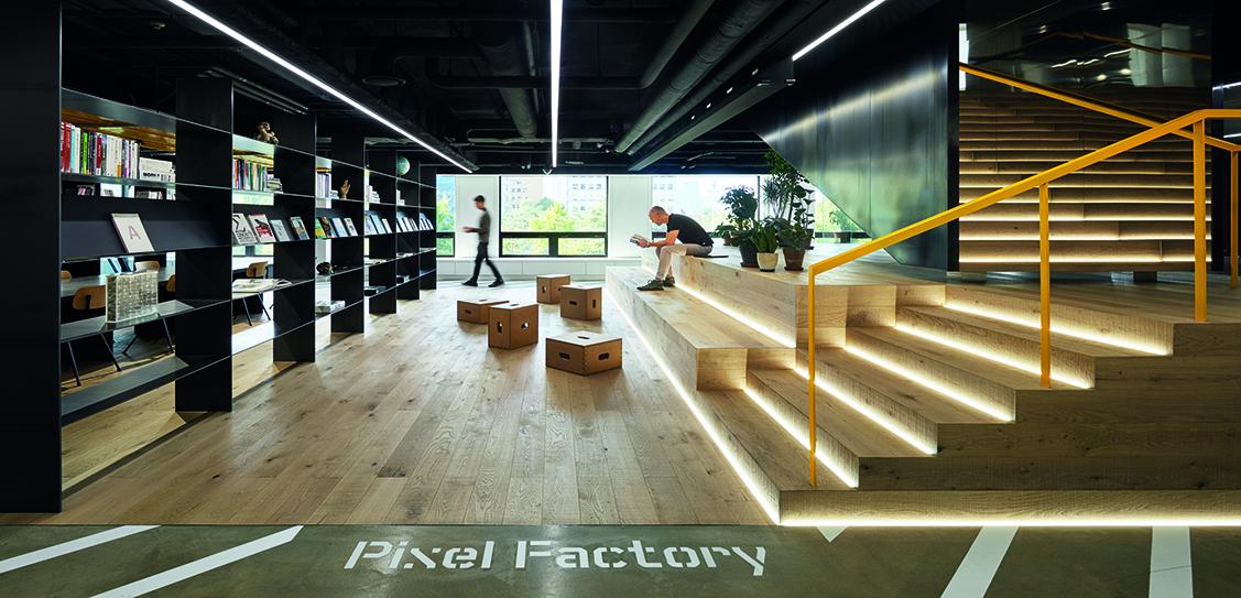 Pixel Factory - Gensler