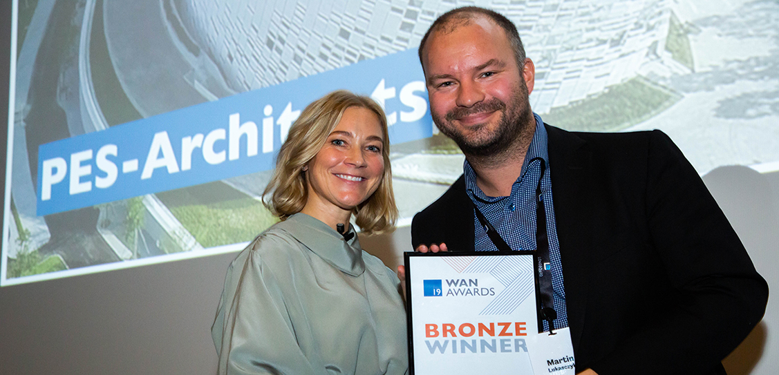 PES-Architects win the Bronze Award in the Waterfront Category