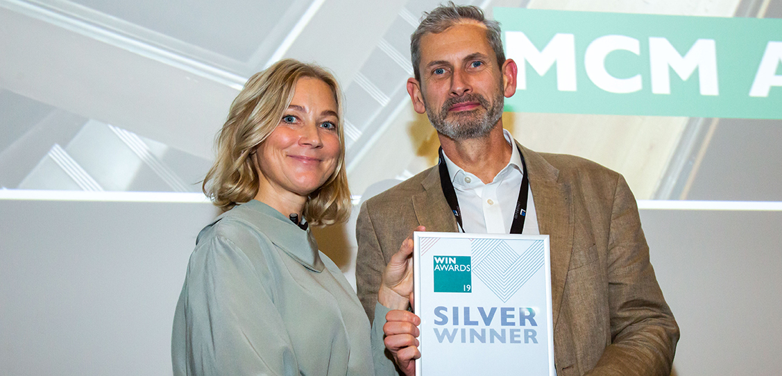 MCM Architecture win the Silver award in the Interiors Practice of the Year