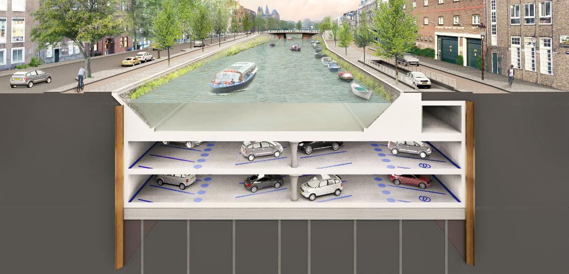 Albert Cuyp parking garage, by ZJA Zwarts & Jansma Architects (Photos: Jeroen Musch)