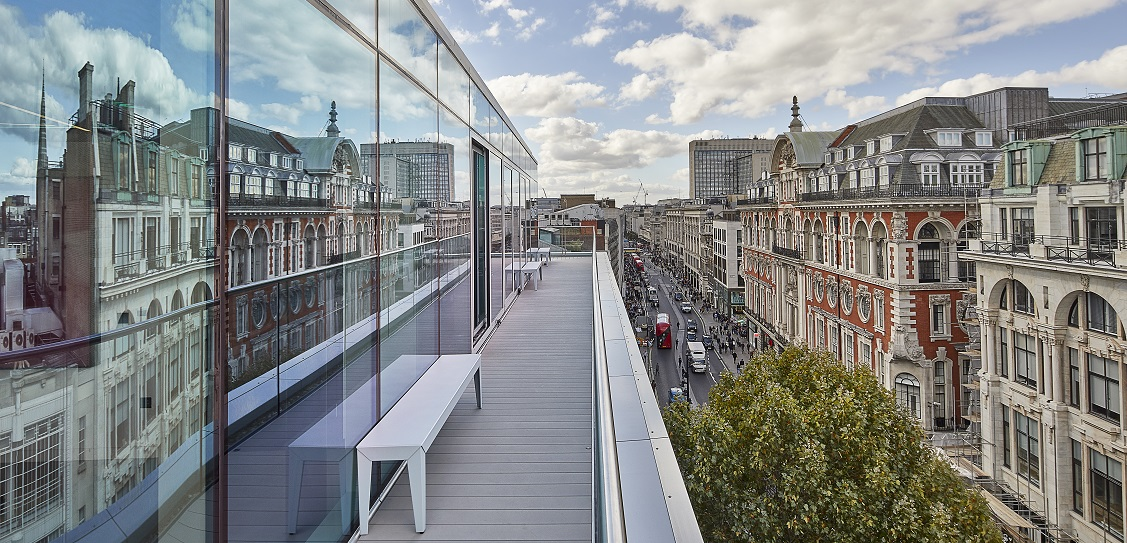 John Robertson Architects revitalised Academy House in London. Picture: Tom Donald